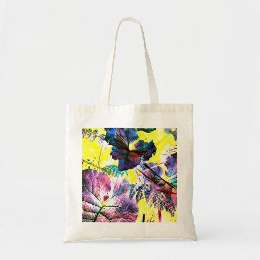 La bolsa de asas de la foto del arte abstracto del