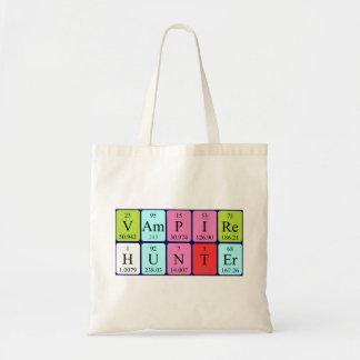 La bolsa de asas de la frase de la tabla periódica