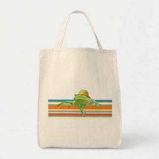 La bolsa de asas de la iguana