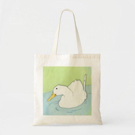 La bolsa de asas de la inmersión del pato