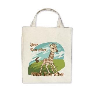 La bolsa de asas de la jirafa de Cutie