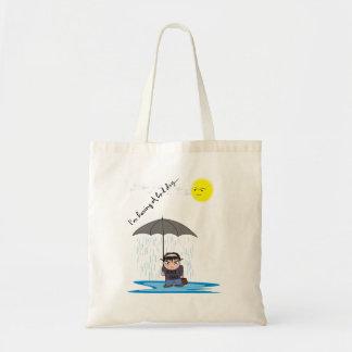 La bolsa de asas de la lluvia - un mún diseño de