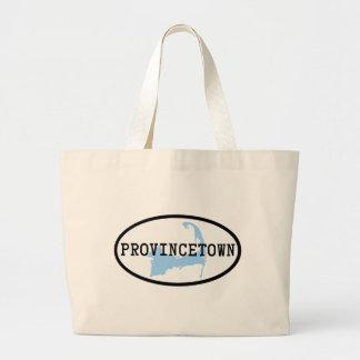 La bolsa de asas de la lona de Provincetown