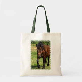 La bolsa de asas de la lona del caballo de proyect