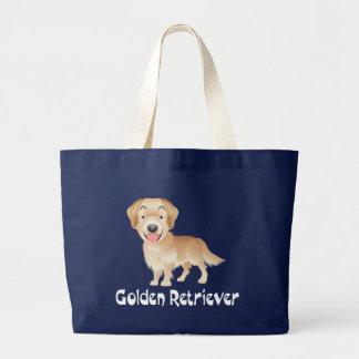La bolsa de asas de la lona del perro de perrito
