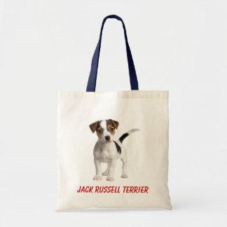 La bolsa de asas de la lona del perro de perrito d