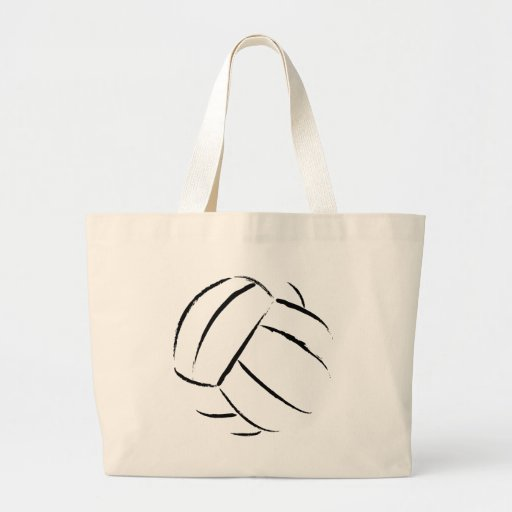 La bolsa de asas de la lona del voleibol