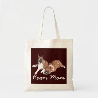 La bolsa de asas de la mamá del boxeador