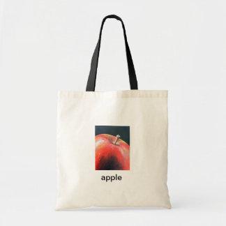 la bolsa de asas de la manzana