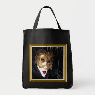 La bolsa de asas de la máscara del carnaval de Ven