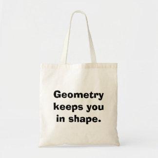 La bolsa de asas de la matemáticas de la geometría