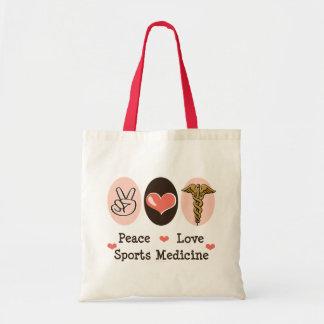 La bolsa de asas de la medicina de deportes del