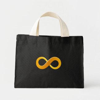La bolsa de asas de la muestra del infinito