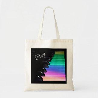 La bolsa de asas de la música del arco iris del