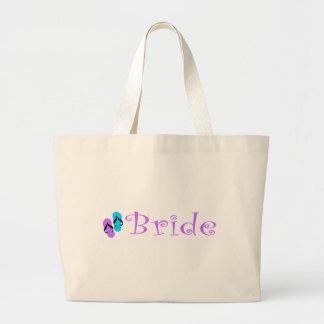 La bolsa de asas de la novia de la playa