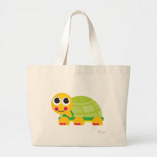 La bolsa de asas de la obra clásica de la tortuga