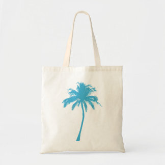La bolsa de asas de la palmera de la turquesa