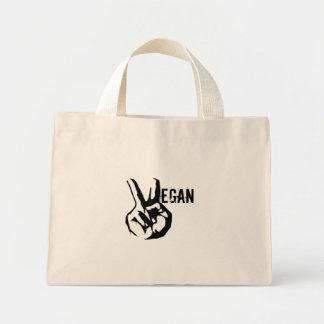 La bolsa de asas de la paz del vegano