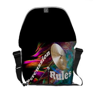 La bolsa de asas de la percusión del tambor AÑADE Bolsas De Mensajería