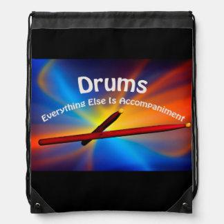 La bolsa de asas de la percusión del tambor AÑADE Mochilas