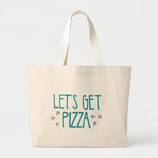 La bolsa de asas de la pizza