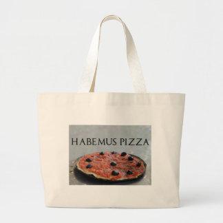 La bolsa de asas de la pizza de Habemus