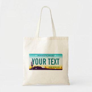 La bolsa de asas de la placa de Arizona