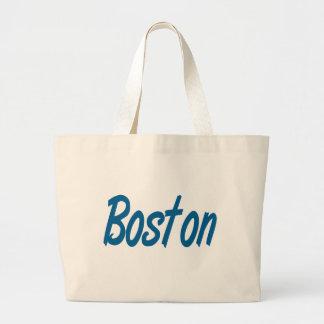 La bolsa de asas de la playa de la lona de Boston