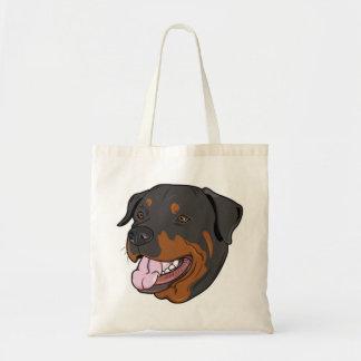 La bolsa de asas de la playa de la lona del perro
