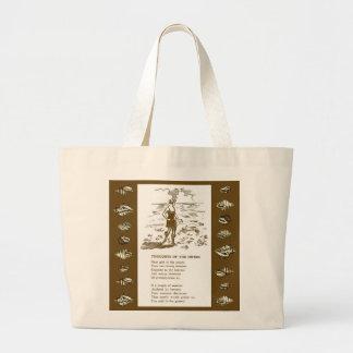 La bolsa de asas de la playa de los años 20 de la