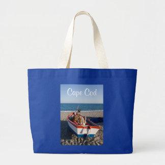 La bolsa de asas de la playa del barco de Cape Cod