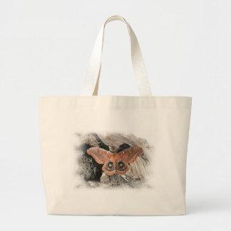 La bolsa de asas de la polilla de Polyphemus