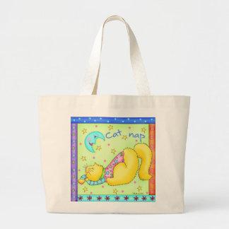 La bolsa de asas de la siesta del gato