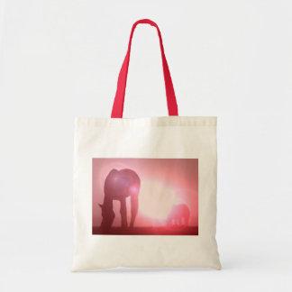 La bolsa de asas de la silueta del caballo