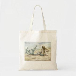 La bolsa de asas de la sirena de la playa