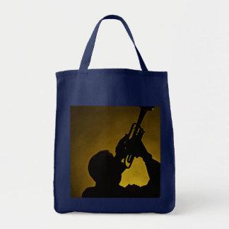 La bolsa de asas de la sombra de la trompeta