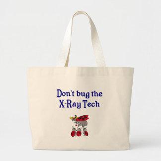 La bolsa de asas de la tecnología de la radiografí