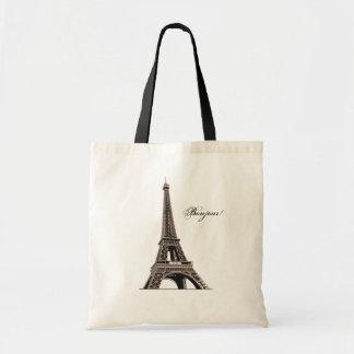 La bolsa de asas de la torre Eiffel