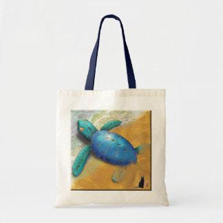 La bolsa de asas de la tortuga de mar