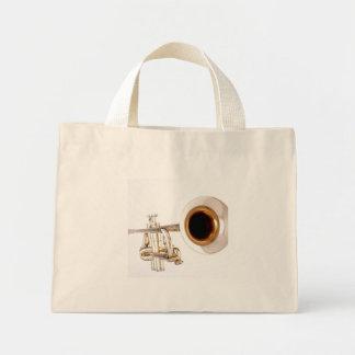 La bolsa de asas de la trompeta
