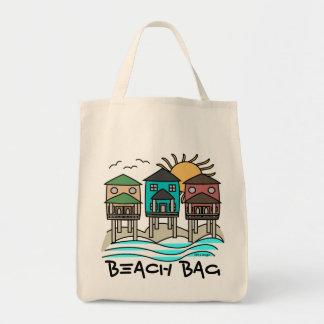 La bolsa de asas de las casas de playa