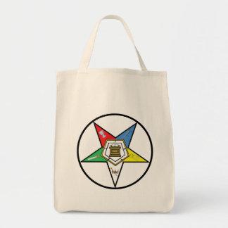 La bolsa de asas de las compras del CÍRCULO de OES