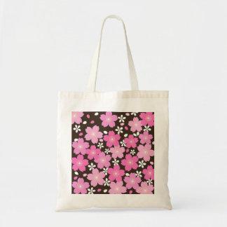 La bolsa de asas de las flores de cerezo