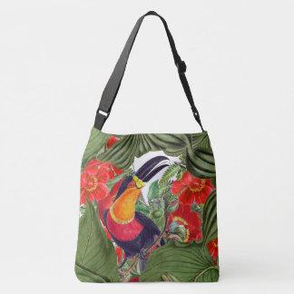 La bolsa de asas de las flores de los animales de