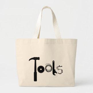 La bolsa de asas de las herramientas