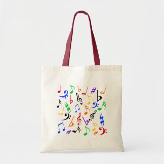 La bolsa de asas de las notas musicales - multi