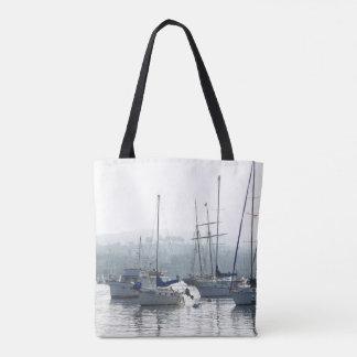 La bolsa de asas de los barcos de mar del océano