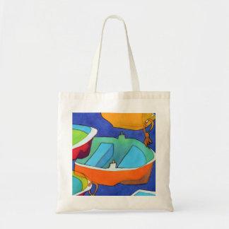 La bolsa de asas de los barcos de Rowing