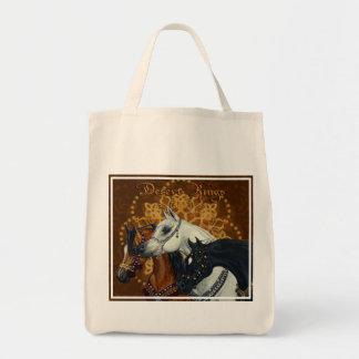 La bolsa de asas de los caballos de reyes Arabian