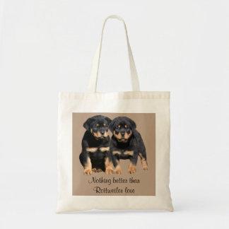 La bolsa de asas de los compinches de Rottweiler